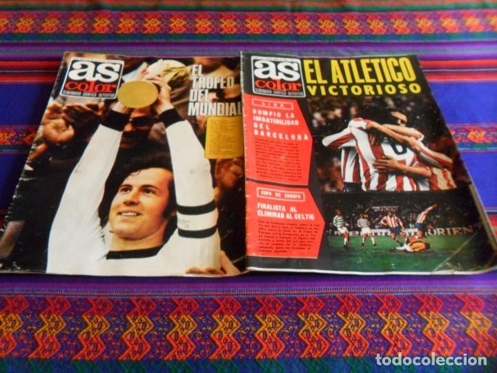 Coleccionismo deportivo: AS FÚTBOL DE ZAMORA A IRÍBAR. REGALO COLOR 154 165 PÓSTER SELECCIÓN ESPAÑA ALEMANIA CAMPEONA MUNDO - Foto 4 - 77752517