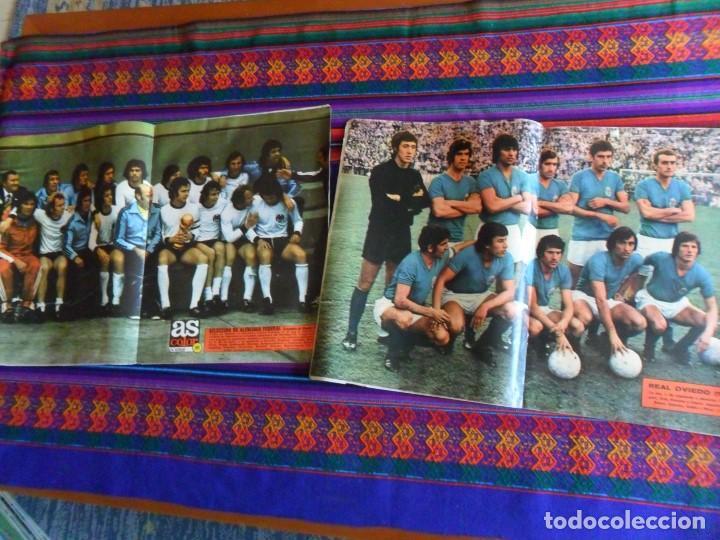 Coleccionismo deportivo: AS FÚTBOL DE ZAMORA A IRÍBAR. REGALO COLOR 154 165 PÓSTER SELECCIÓN ESPAÑA ALEMANIA CAMPEONA MUNDO - Foto 5 - 77752517
