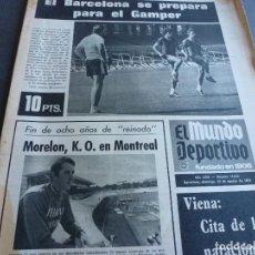 Collezionismo sportivo: (MS)MUNDO DEPORTIVO(18-8-74)PEÑAROL 1 ESPAÑOL 0,ROSELLÓ(SABADELL)SPORTING GIJÓN,BOB ALLOTEY,WOLFF.. Lote 77898205