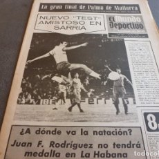 Coleccionismo deportivo: (MS)MUNDO DEPORTIVO(28-8-74)GLUIG(FUTBOL)BARÇA 2 STAL MIELEC 1,ADIÓS ZOCO,MARAÑON,SANTORO(HÉRCULES). Lote 77899033