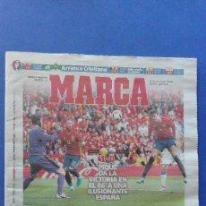 Coleccionismo deportivo: MARCA, (EUROCOPA 2016) - MARTES 14 DE JUNIO DE 2016.. Lote 78264301