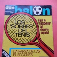 Coleccionismo deportivo: REVISTA DON BALON 1976 Nº 57 KUBALA SELECCION ESPAÑOLA-POSTER LOBO DIARTE VALENCIA CF-GRANADA. Lote 78534661