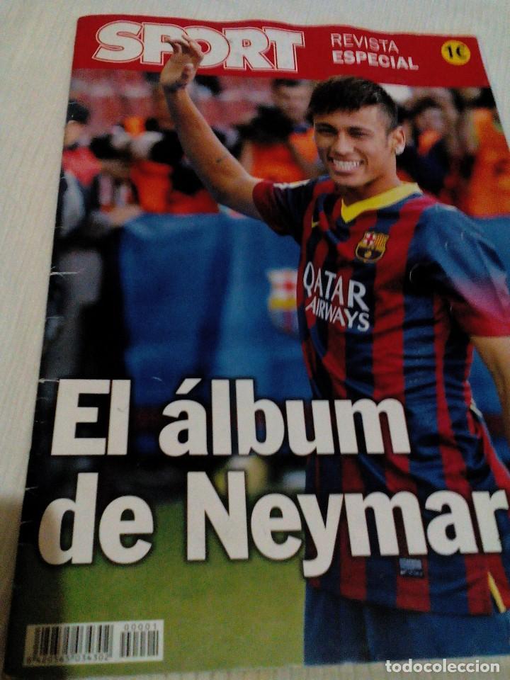 C3__REVISTA ESPECIAL CON FOTOS DE NEYMAR DEL FCB (Coleccionismo Deportivo - Revistas y Periódicos - Sport)