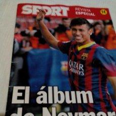 Coleccionismo deportivo: C3__REVISTA ESPECIAL CON FOTOS DE NEYMAR DEL FCB. Lote 78899625