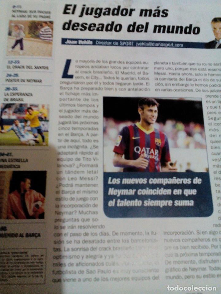 Coleccionismo deportivo: C3__revista especial con fotos de Neymar del fcb - Foto 6 - 78899625