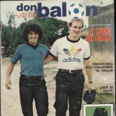 Coleccionismo deportivo: DON BALON. 1983.. Lote 79158593