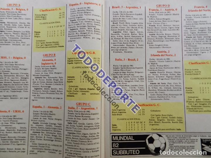 Coleccionismo deportivo: REVISTA DON BALON EXTRA MUNDIAL 1982 Nº 13 ESPAÑA 82 RESUMEN WORLD CUP M82 WC FOTOS ITALIA CAMPEON - Foto 6 - 82565184