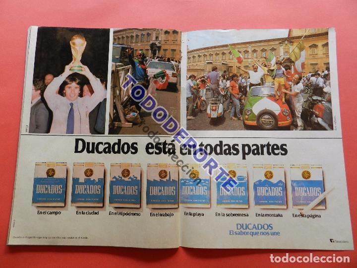 Coleccionismo deportivo: REVISTA DON BALON EXTRA MUNDIAL 1982 Nº 13 ESPAÑA 82 RESUMEN WORLD CUP M82 WC FOTOS ITALIA CAMPEON - Foto 13 - 82565184
