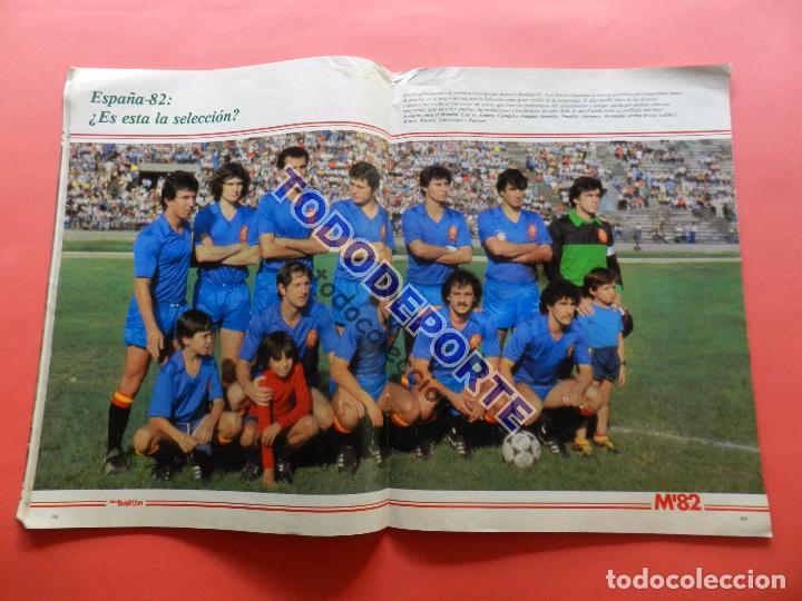 Coleccionismo deportivo: REVISTA DON BALON EXTRA MUNDIAL 1982 Nº 2 ESPAÑA 82 POSTER SELECCION ESPAÑOLA WORLD CUP M82 WC - Foto 2 - 79557941
