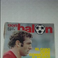 Coleccionismo deportivo: DON BALON 283. POSTER QUINI EN 3 DIMENSIONES. 1981.. Lote 79599361