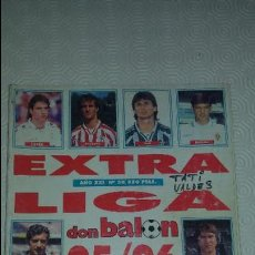 Coleccionismo deportivo: DON BALON. EXTRA LIGA 95-96. Lote 79613873