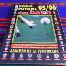 Coleccionismo deportivo: BUEN PRECIO. DON BALÓN TODO FÚTBOL 95 96. Nº 33. 750 PTS. BUEN ESTADO.. Lote 80466721