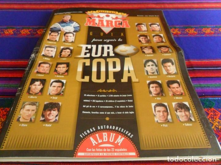 ESPECIAL EUROCOPA INGLATERRA 1996 EURO 96. MARCA GRAN TAMAÑO. BUEN ESTADO. (Coleccionismo Deportivo - Revistas y Periódicos - Marca)