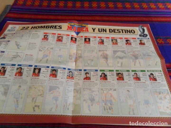 Coleccionismo deportivo: ESPECIAL EUROCOPA INGLATERRA 1996 EURO 96. MARCA GRAN TAMAÑO. BUEN ESTADO. - Foto 2 - 80472949