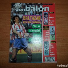 Coleccionismo deportivo: DON BALON Nº 744 1990 COLOR ANDERLECHT CAMPEON FUTRE BALTAZAR ATLETICO MADRID POSTER MILLA BARCELONA. Lote 80531997