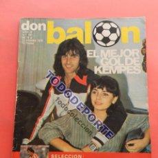 Coleccionismo deportivo: REVISTA DON BALON Nº 167 DICIEMBRE 1978. Lote 80584166