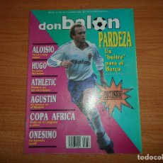 Coleccionismo deportivo: DON BALON Nº 752 1990 A COLOR COPA AFRICA POSTER ARGELIA CAMPEON - AGUSTIN REAL MADRID . Lote 80672106