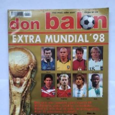 Coleccionismo deportivo: DON BALON EXTRA Nº39.EXTRA MUNDIAL 98. . Lote 80716830