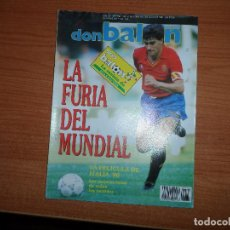 Coleccionismo deportivo: DON BALON Nº 766 1990 FASE GRUPOS ITALIA 90 ESPAÑA VS BELGICA INGLATERRA VS HOLANDA ARGENTINA VS UR. Lote 80865999