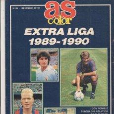 Coleccionismo deportivo: AS COLOR. Nº 186. EXTRA LIGA 1989 - 1990. (B/57). Lote 82191480