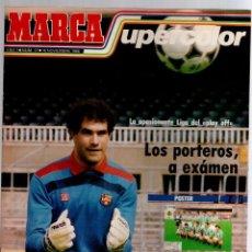 Coleccionismo deportivo: LOTE 17 REVISTAS MARCA SUPERCOLOR + REGALO. Lote 82363144