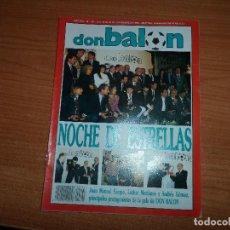 Coleccionismo deportivo: DON BALON Nº 791 REAL MADRID CAMPEON SUPERCOPA VS BARCELONA FERNANDO REDONDO TENERIFE BEGUIRISTAIN . Lote 83317288