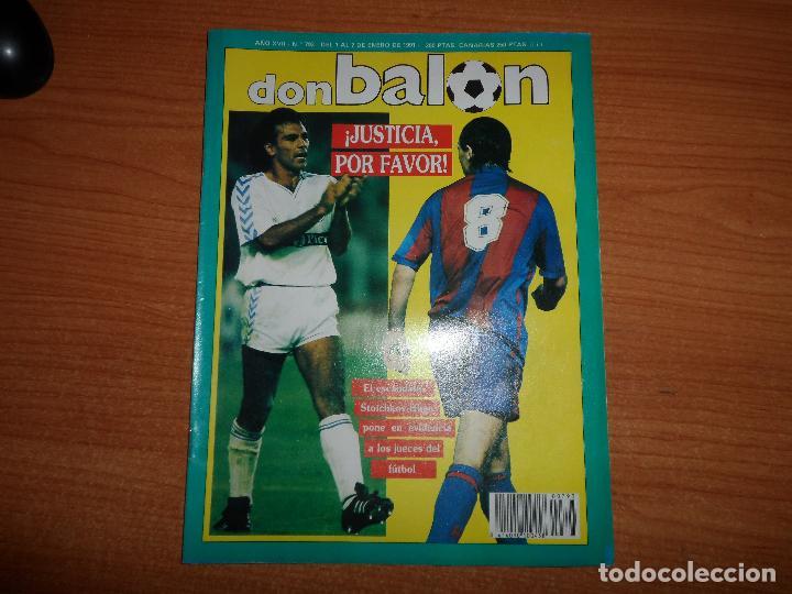 Calendario Arsenal.Don Balon Nº 793 Con El Calendario De 1991 Li Sold