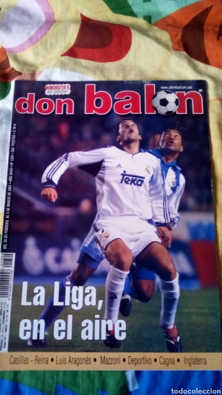 DON BALON NÚMERO 1324 POSTER MANCHESTER UNITED (Coleccionismo Deportivo - Revistas y Periódicos - Don Balón)