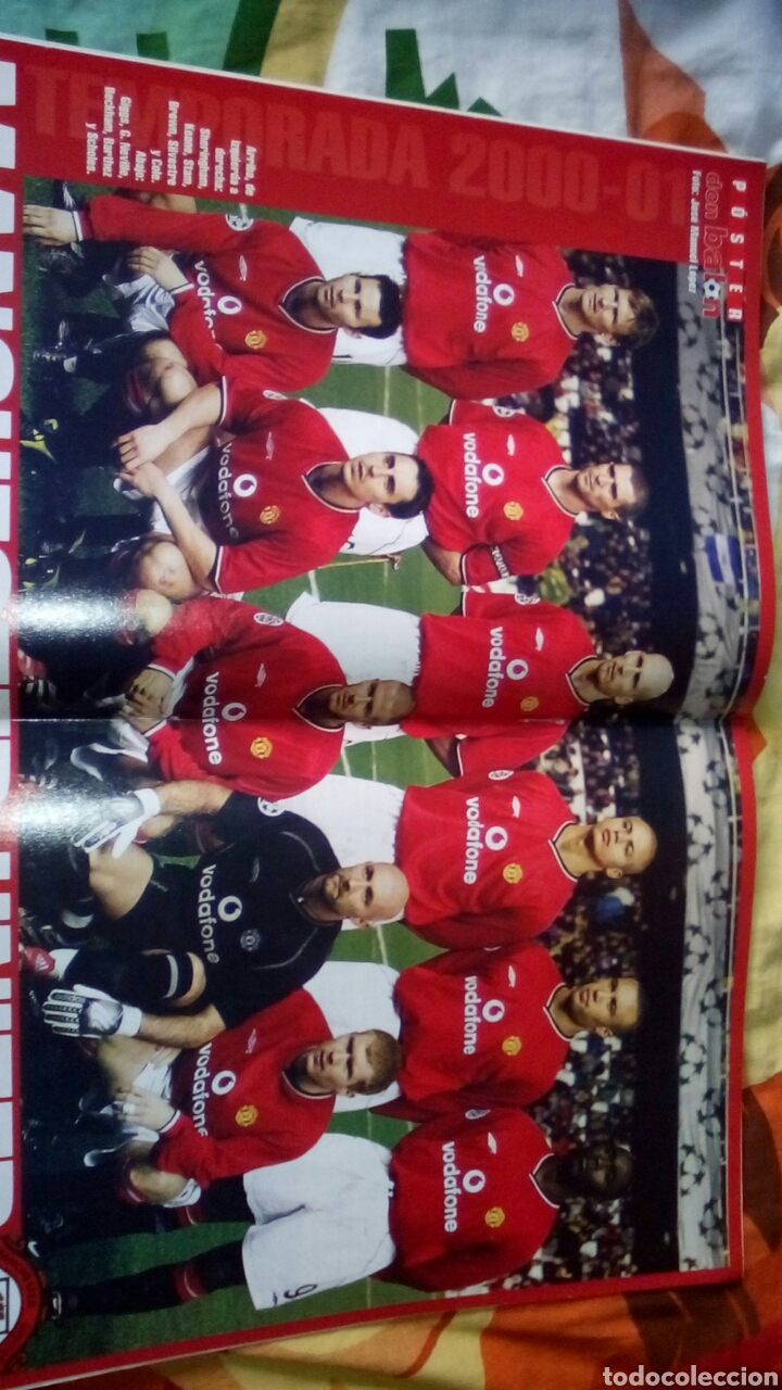 Coleccionismo deportivo: Don balon número 1324 poster Manchester united - Foto 2 - 83585078