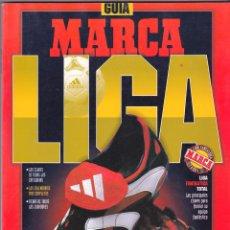 Coleccionismo deportivo: GUÍA MARCA LIGA 1998-99, PRIMERA, SEGUNDA DIVISIÓN Y SEGUNDA B, CALENDARIO DE LAS 3 CATEGORÍAS. Lote 83592840