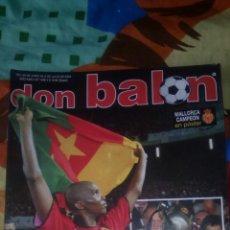 Coleccionismo deportivo: DON BALON NÚMERO 1446 MALLORCA CAMPEON DE COPA CON POSTER DEL MALLORCA. Lote 83626232