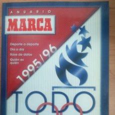 Coleccionismo deportivo: ANUARIO MARCA TODO DEPORTE 1995-96 . Lote 83642892