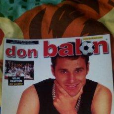 Coleccionismo deportivo: DON BALON NÚMERO 1442 POSTER MILAN CAMPEON DE EUROPA. Lote 83699738