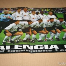 Coleccionismo deportivo: POSTER DON BALÓN VALENCIA FINAL CHAMPIONS 2001 . Lote 83849596