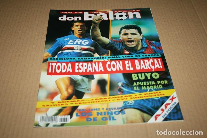 REVISTA DON BALÓN Nº864 FINAL COPA EUROPA BARCELONA - SAMPDORIA 1992 (Coleccionismo Deportivo - Revistas y Periódicos - Don Balón)