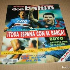 Coleccionismo deportivo: REVISTA DON BALÓN Nº864 FINAL COPA EUROPA BARCELONA - SAMPDORIA 1992. Lote 83853216