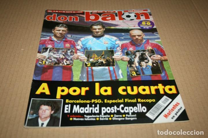 REVISTA DON BALÓN Nº1125 FINAL RECOPA 1997 BARCELONA - PSG (Coleccionismo Deportivo - Revistas y Periódicos - Don Balón)