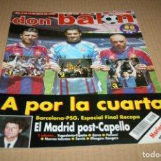 Coleccionismo deportivo: REVISTA DON BALÓN Nº1125 FINAL RECOPA 1997 BARCELONA - PSG. Lote 83855676
