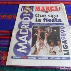 Coleccionismo deportivo: MARCA SUPLEMENTO REAL MADRID LIGA 98 99 1998 1999. QUE SIGA LA FIESTA.. Lote 84322892