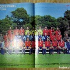 Coleccionismo deportivo: DON BALON DB EUROCOPA 2000 PREVIA UEFA EURO CUP POSTER SELECCION ESPAÑOLA ENTREVISTA IKER CASILLAS. Lote 84658708