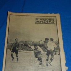 Coleccionismo deportivo: LA JORNADA DEPORTIVA 16 MARZO 1923 - PORTADA EUROPA - FC BARCELONA , NUMERO EXTRAORDINARIO. Lote 84908916