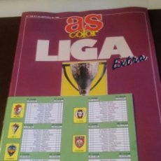 Coleccionismo deportivo: AS COLOR LIGA EXTRA 1990 1991. Lote 85005800