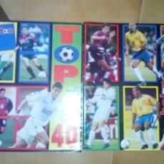 Collectionnisme sportif: DON BALON SUPLEMENTOS TOP GOLEADORES Y TOP CRACKS DE LA LIGA. Lote 85278831