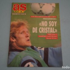 Coleccionismo deportivo: REVISTA AS COLOR PROSINECKI ATLETISMO REPORTAJE NBA TONI AT.MADRID Nº 321 AÑO 1992. Lote 85746952