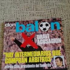 Coleccionismo deportivo: REVISTA DON BALON AÑO II,FEBRERO 1976. Lote 85986746