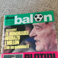 Coleccionismo deportivo: REVISTA DON BALON AÑOIII,NUMERO 166. Lote 86013919