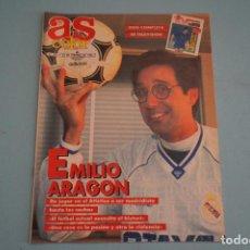 Coleccionismo deportivo: REVISTA AS COLOR EMILIO ARAGON LEONARDO SALVATORE ANTIBO BALONCESTO NBA Nº 315. Lote 86095320