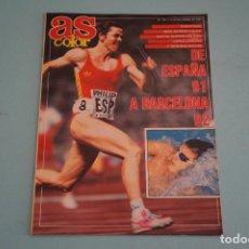 Coleccionismo deportivo: REVISTA AS COLOR BARCELONA 92 MIERA ATLETISMO BALONCESTO NBA WATERPOLO RALLY Nº 305. Lote 86098916