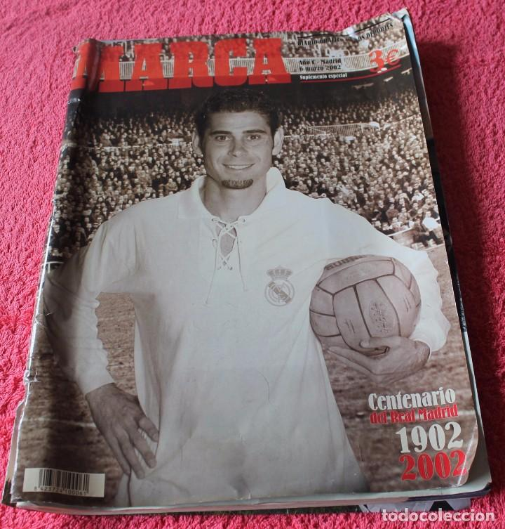 MARCA CENTENARIO REAL MADRID-1902-2002 (Coleccionismo Deportivo - Revistas y Periódicos - Marca)