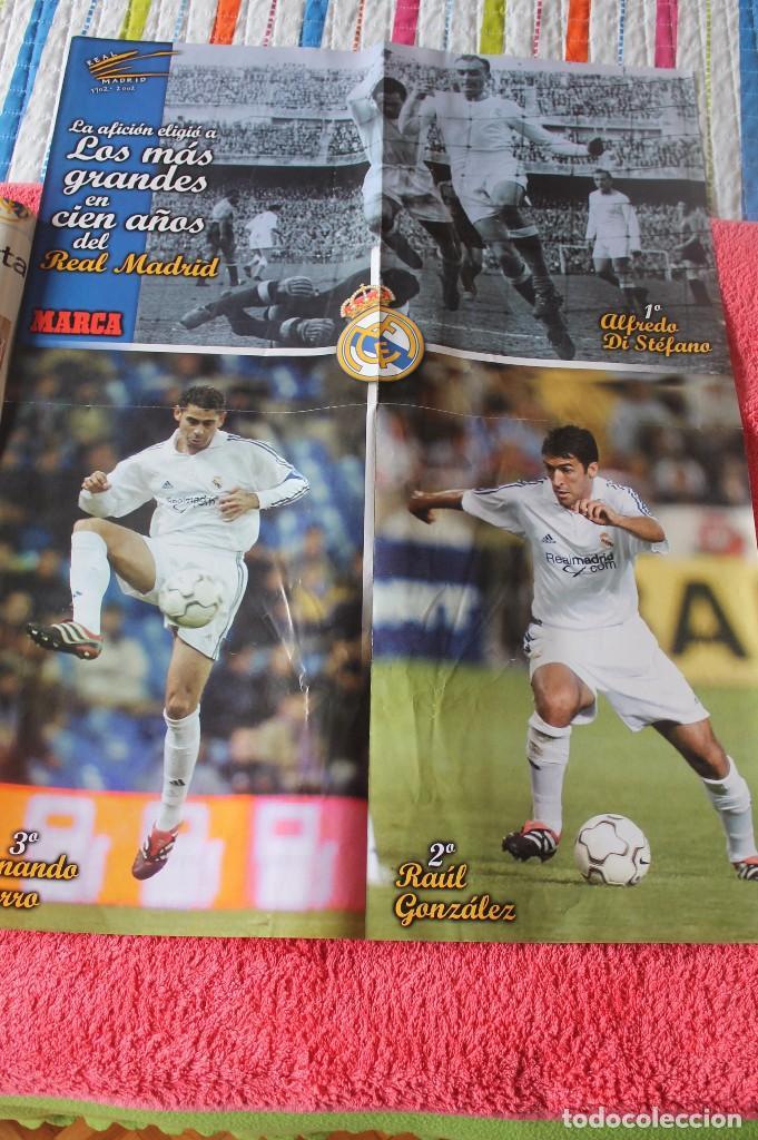 Coleccionismo deportivo: MARCA CENTENARIO REAL MADRID-1902-2002 - Foto 2 - 86166692
